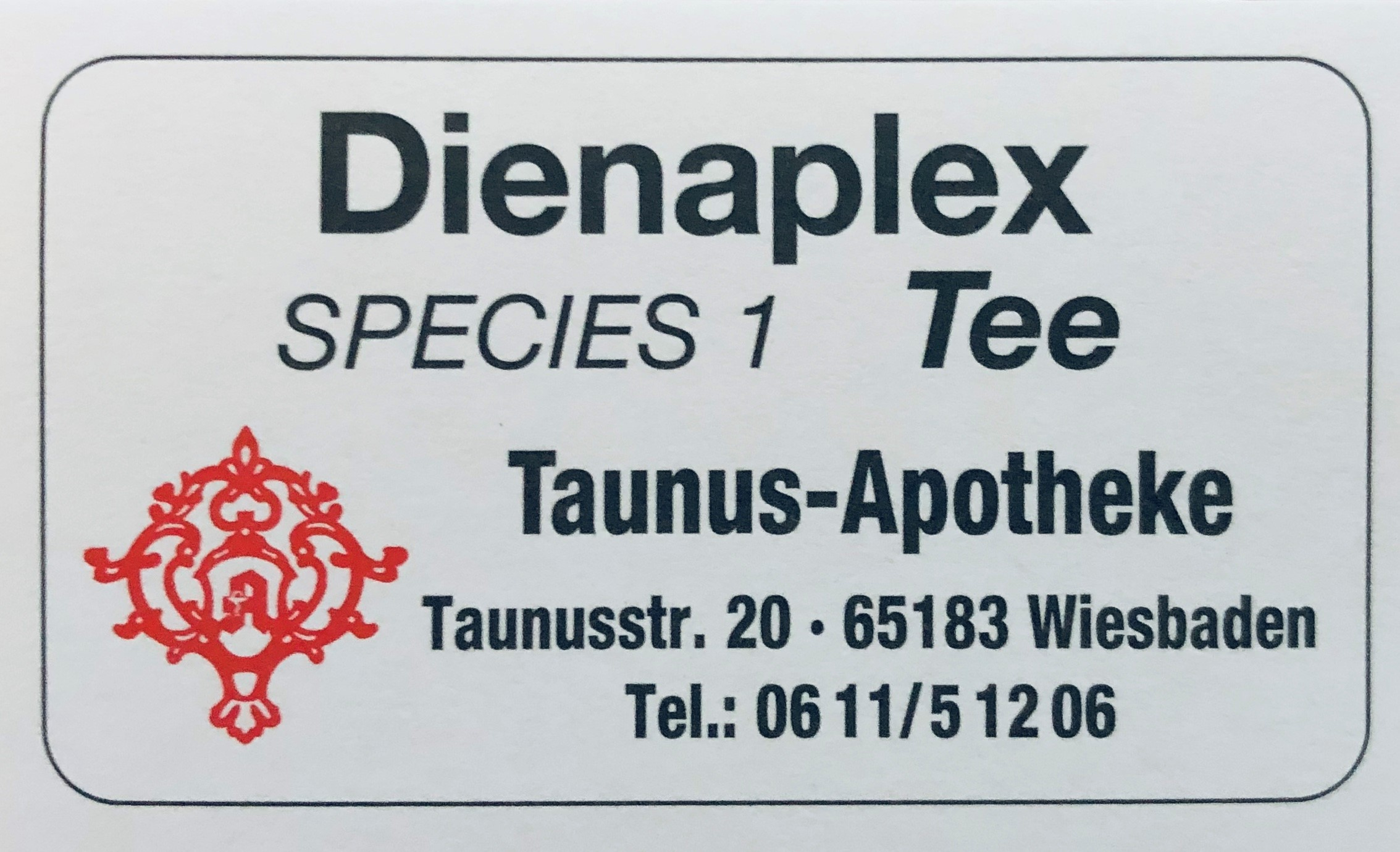 Dienaplex Species 1 Tee